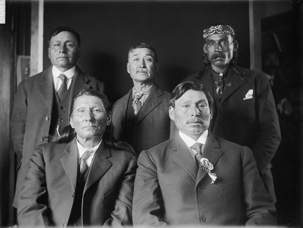 Group of Cherokee Yankton and Sisseton 1909