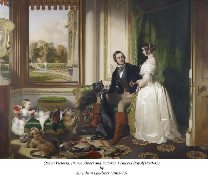 the-game-picture-queen-victoria-prince-albert-princess-vicky-and-dogs-no-2